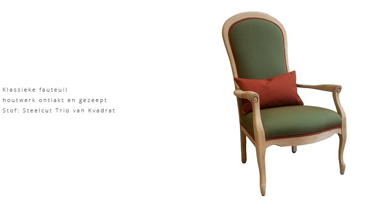 -klassieke-fauteuil-houtwerk-ontlakt-en-gezeept-stof-de-memory-van-kvadrat