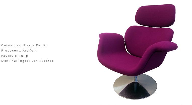 ontwerper-pierre-paulin-producent-artifort-fauteuil-tulip-stof-hallingdal-van-kvadrat